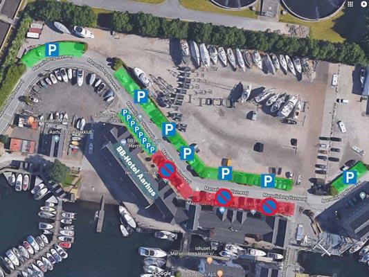 Hotel Aarhus parkering