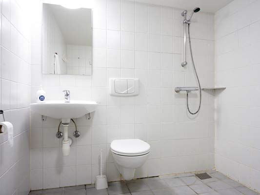 Hotel Kastrup badeværelse