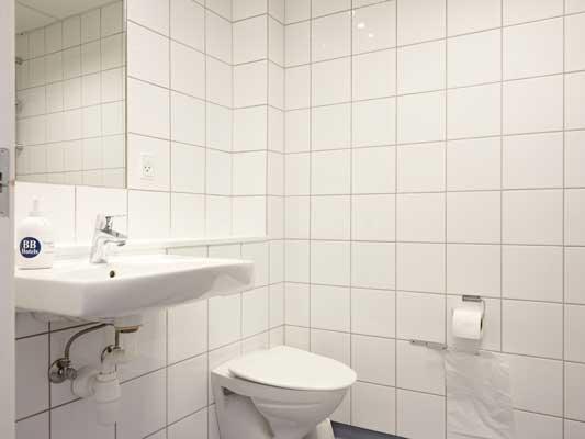 Hotel Vejle badeværelse