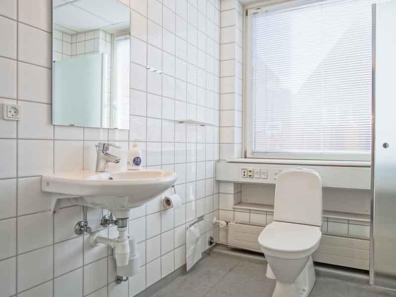 Hotel Rønne badeværelse