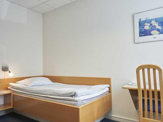 Hotel Kastrup 1-sengsværelse