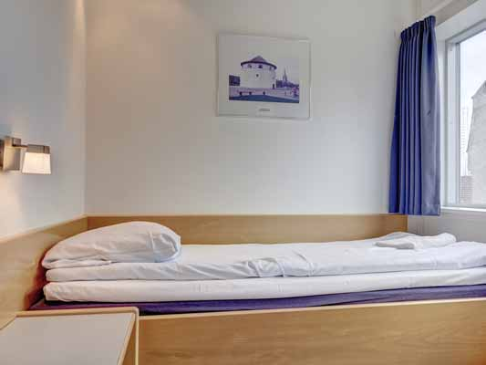 Hotel Frederikshavn 1-sengsværelse
