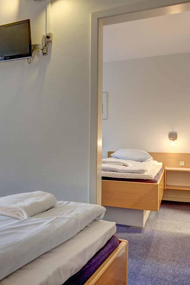 Hotel Frederikshavn 4-sengsværelse