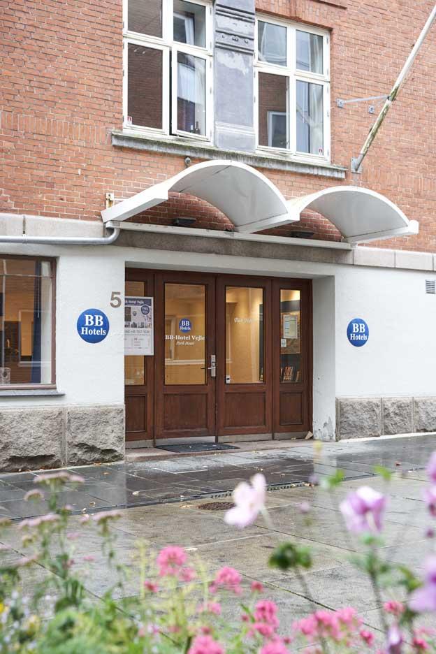 Hotel Vejle indgang