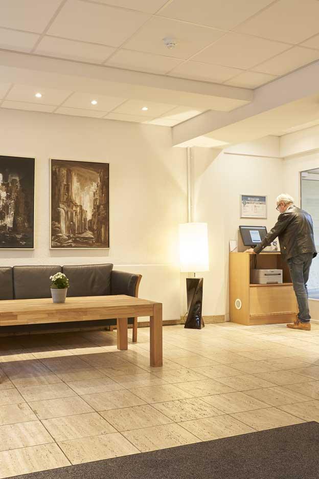 Hotel Vejle reception