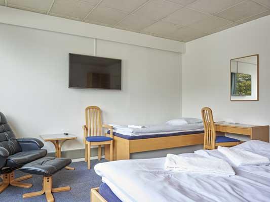Hotel Kastrup 3-sengsværelse