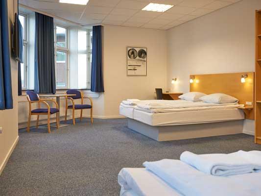 Hotel Vejle 3-sengsværelse