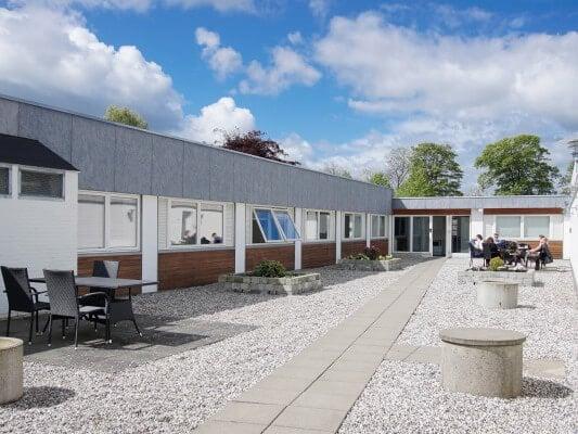 BB-Hotel Herning, atriumgård