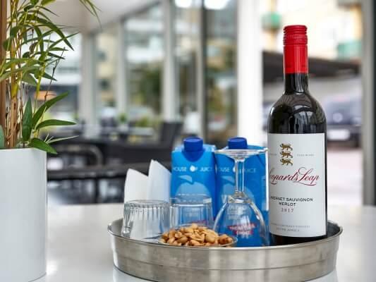 BB-Hotel Kastrup - ekstra tilkøb rødvin