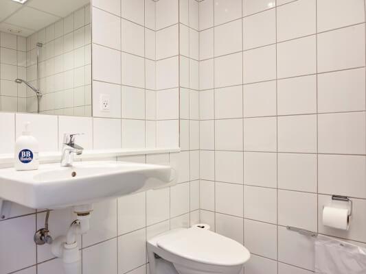 Bathroom, BB-Hotel Vejle