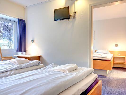3-Bettzimmer, BB-Hotel Frederikshavn
