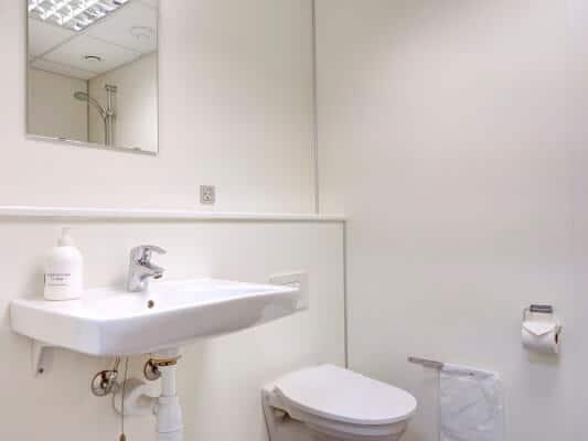 Bathroom at BB-Hotel Frederikshavn