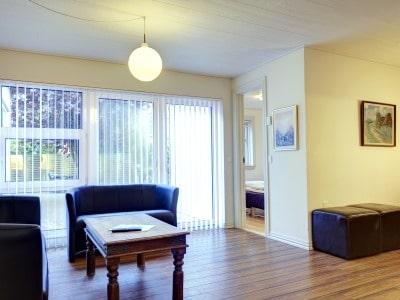 Wohnzimmer, Ferienwohnung Frederikshavn