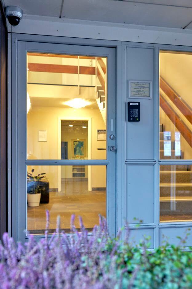 BB-Hotel Frederikshavn, Eingang